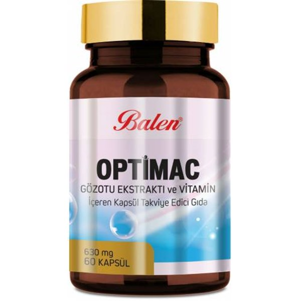 Balen Optimac Gözotu Ekstraktı ve Vitamin 630 mg 60 Kapsül