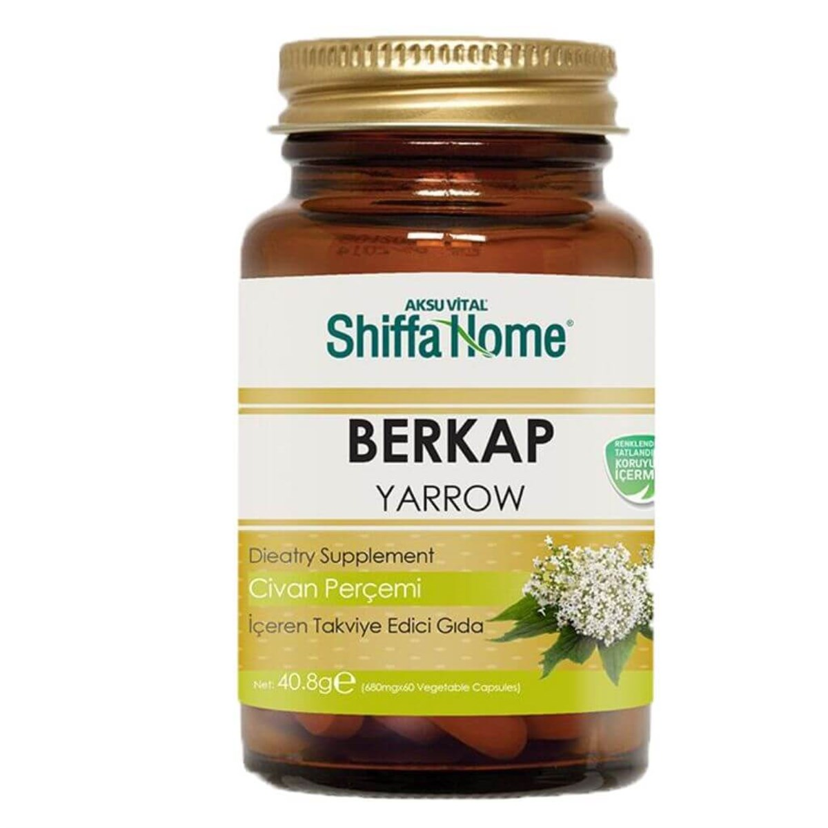Shiffa Home Berkap Bsr Kapsül 60x680mg
