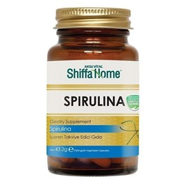 Shiffa Home Spirulina Kapsül 60x720 mg