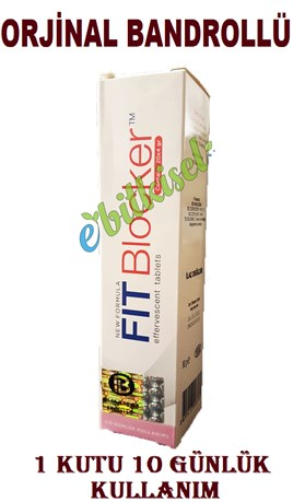 Fit Blocker Effervescent Tablet Fitblocker - ORJİNAL BANDROLLÜ