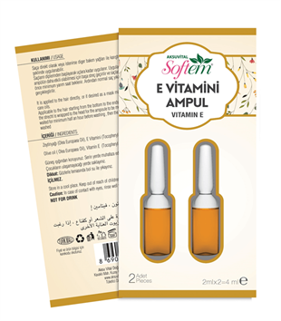 Softem E Vitamini Kapsülü 2 x 2 ML